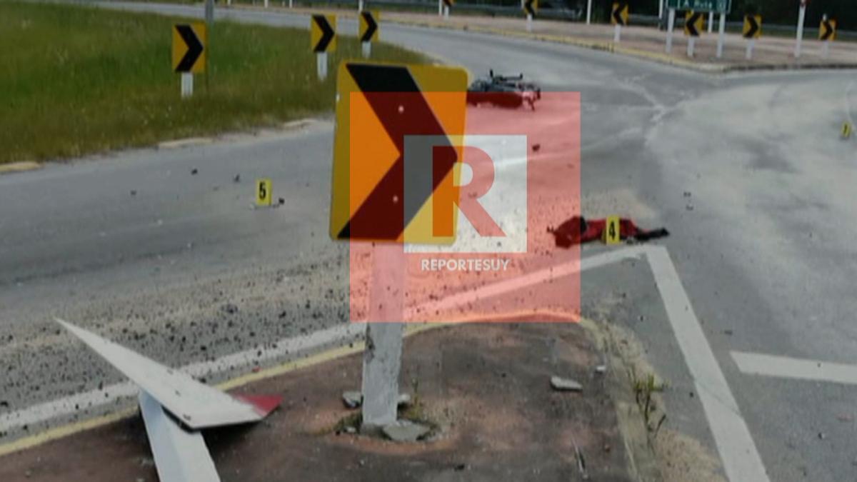 Un hombre de 23 años falleció en Rocha y una mujer resultó con traumatismo de cráneo