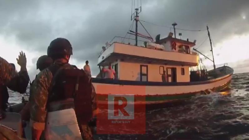 caputaran barco brasileño