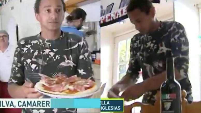 montaje-con-dario-silva-trabajando-en-la-pizzeria-frascatti-sirviendo-una-pizza-y-colocando-una-mesa--capturas-el-chiringuito