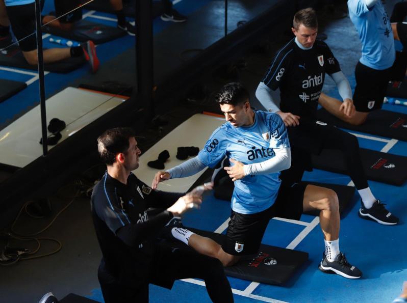 uruguay entrenamiento