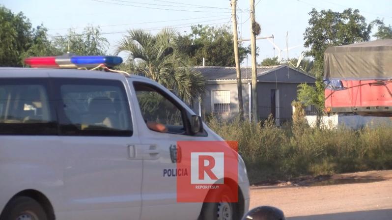 camioneta policia chuy