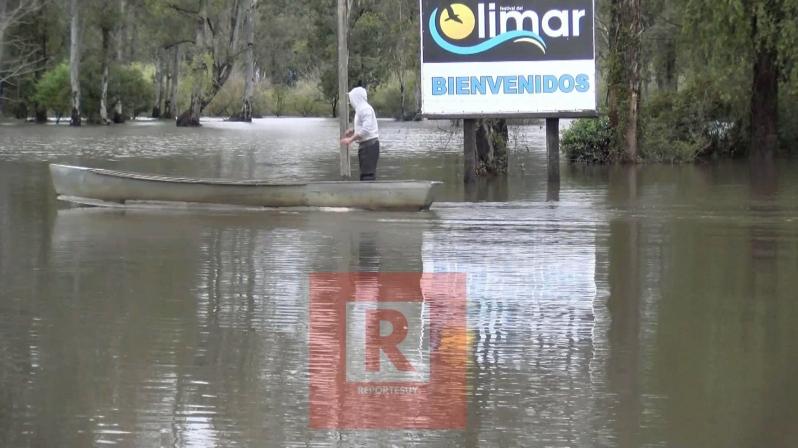 inundaciones en la ciudad de treita y tres