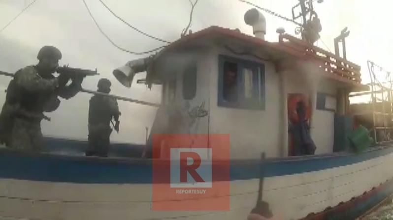 capturan pesquero brasileño