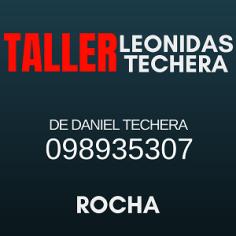 PUBLICIDAD TALLER LEONIDAS