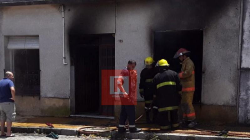 incendio casa en Rocha 2