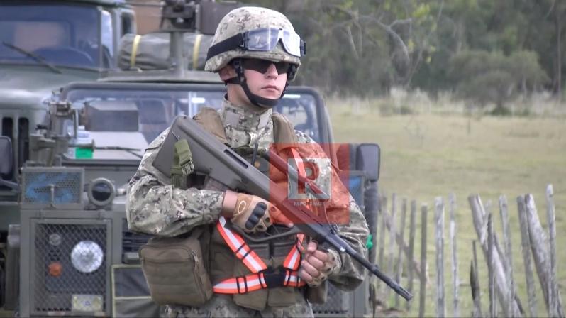 militares control de ruta 15
