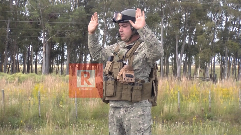 militares control de ruta 4