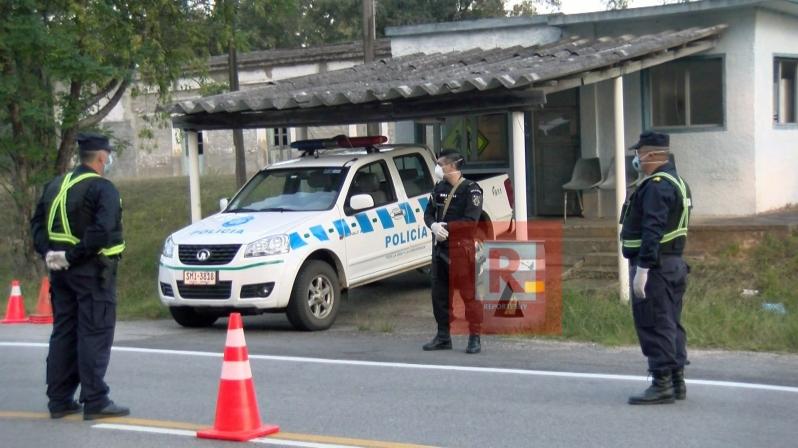 controles policiales en la ruta 5