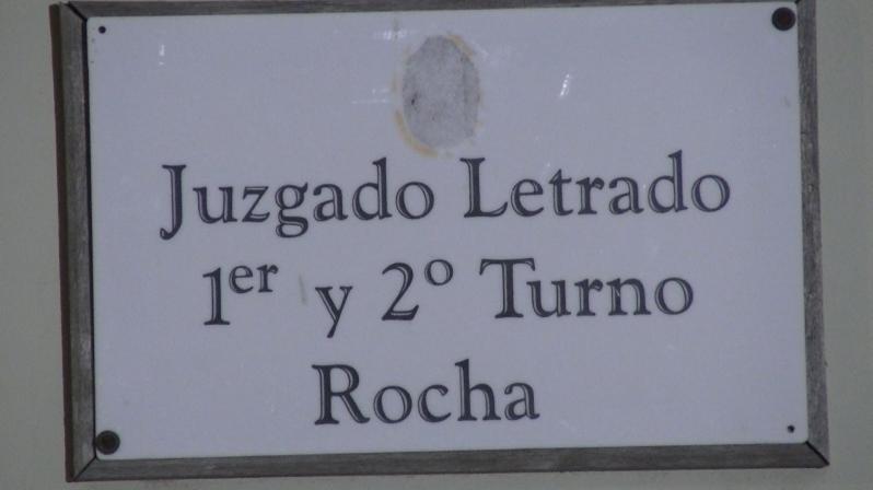 juzgado cartel Rocha