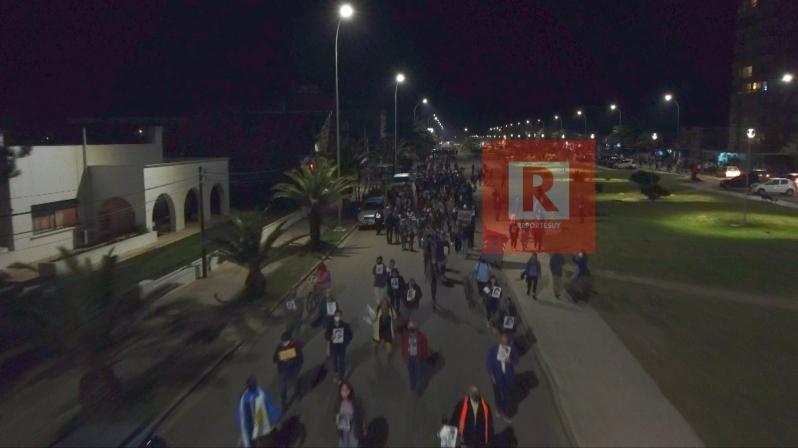 Marcha del silencio en La Paloma 1