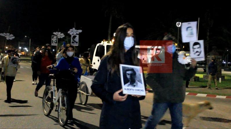 Marcha del silencio en La Paloma 2