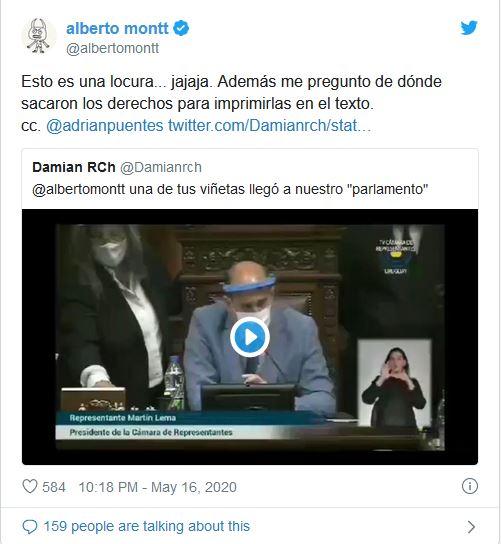 TWITTER ALBERTO MONTT